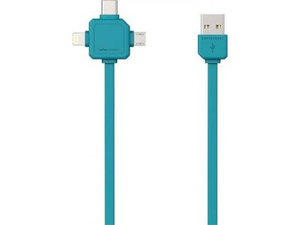 PowerCube Cable 1.5m modrý
