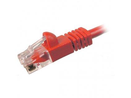 PATCH KABEL Patch kabel UTP CAT6 1m červená