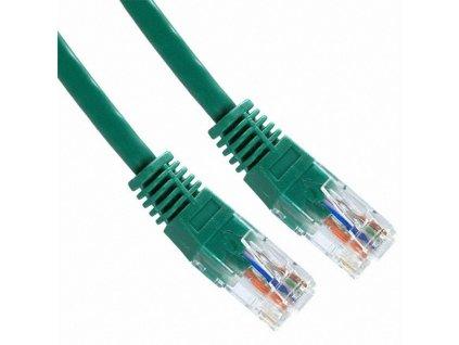 PATCH KABEL Patch kabel UTP CAT6 0.5m zelený