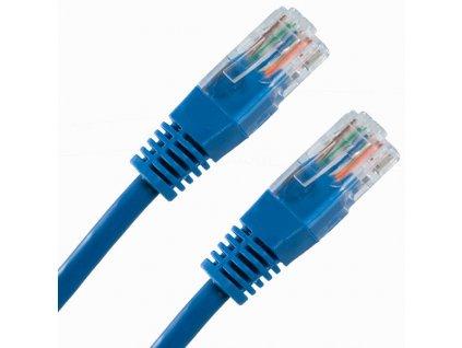 PATCH KABEL Patch kabel UTP CAT6 1m modrý