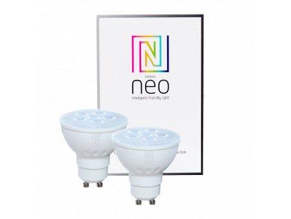 2x Immax Neo LED GU10/230V 4,8W Zigbee