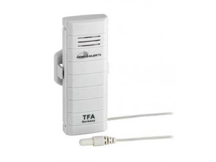 TFA bezdrátové čidlo teploty s kabelovým senzorem 30.3301.02 pro WEATHERHUB
