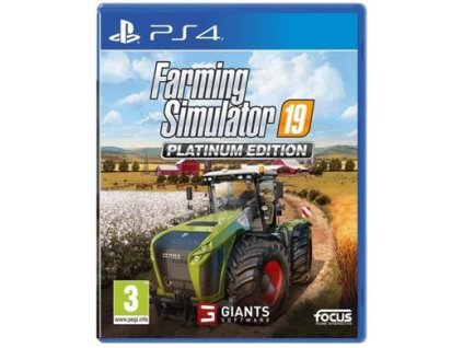PS4 - Farming Simulator 19: Platinum Edition