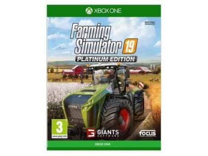 XBOX ONE - Farming Simulator 19: Platinum Edition