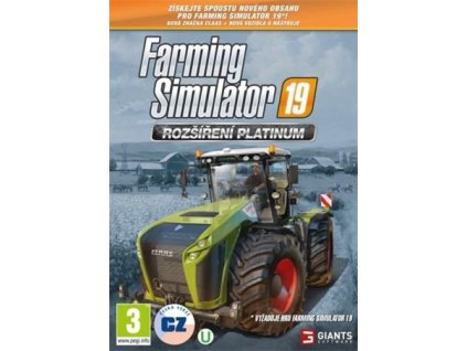 PC - Farming Simulator 19: Rozšíření Platinum