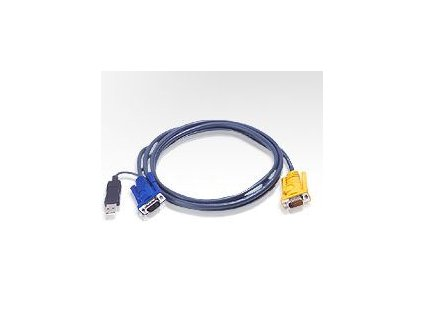 ATEN KVM sdružený kabel k CS-12xx  USB  2m