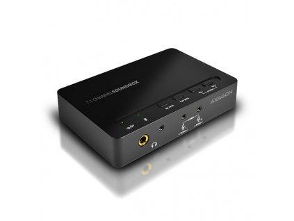 AXAGON ADA-71 SOUNDbox USB real 7.1 audio adapter