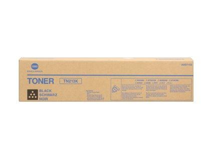 Konica Minolta toner cartridge, black, TN 213, pro bizhub C203, C253 (TN213) - originální