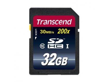 Transcend SDHC Premium 32GB Class10 200x