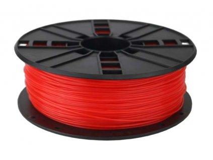 Gembird filament PLA 1.75mm 1kg, fluorescentní červená