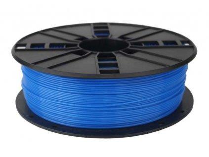 Gembird filament PLA 1.75mm 1kg, fluorescentní modrá