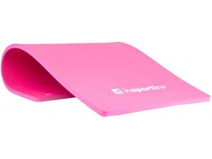 INSPORTLINE Podložka na cvičení Profi 100 cm - růžová