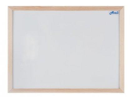 Aveli magnetická tabule 60x90 cm, dřevěný rám