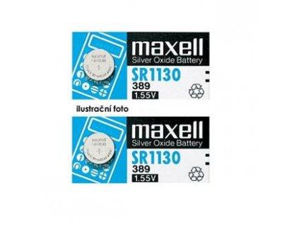MAXELL Hodinková baterie SR 41W / 392, HD, blistr 1ks