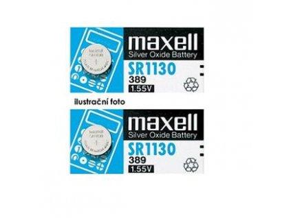 MAXELL Hodinková baterie SR 521SW / 379, LD, blistr 1ks