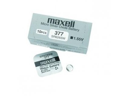 MAXELL Hodinková baterie SR 626SW / 377, LD, blistr 1ks