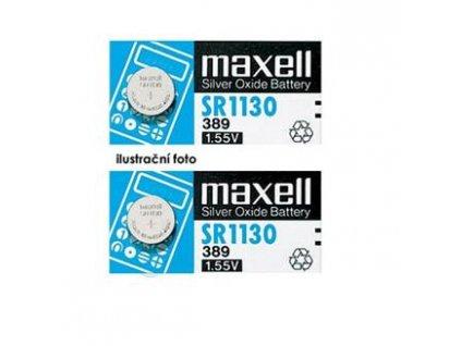 MAXELL Hodinková baterie SR 920SW / 371, LD, blistr 1ks