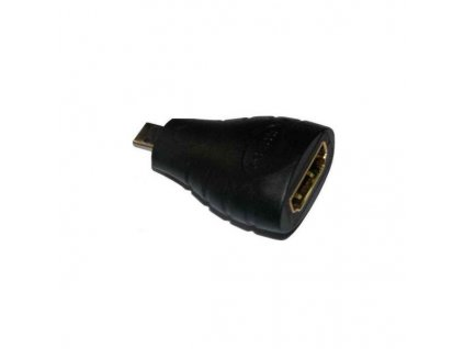 Adapter HDMI Typ A samice - micro HDMI Typ D samec