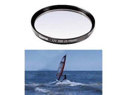 HAMA filtr UV 0-HAZE M 77, černý (70077)