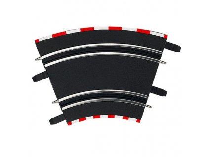 Carrera GO/GO+/D143 - 61612 Klopené zatáčky 1/45 (4ks)