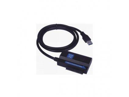 "PremiumCord USB 3.0 - SATA3 adaptér s kabelem pro 2x 2,5""/3,5""HDD"