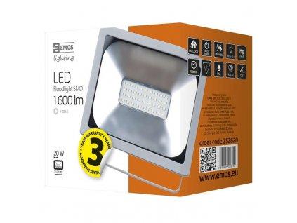 LED reflektor PROFI, 20W studená bílá