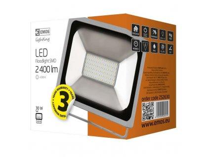LED reflektor PROFI, 30W studená bílá