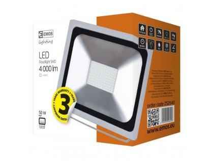 LED reflektor PROFI, 50W studená bílá