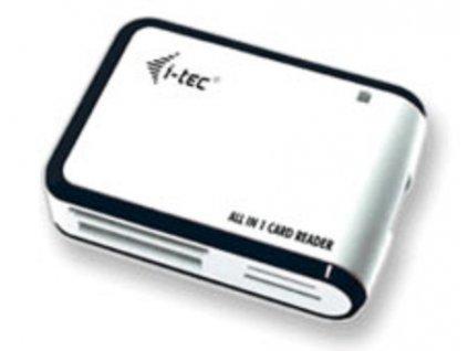 I-TEC čtečka karet All-in-One USB2.0, bílo/černá