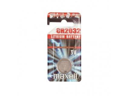 MAXELL lithiová baterie CR2032, blistr 1 ks - k základním deskám, ovladačům, vahám, apod.
