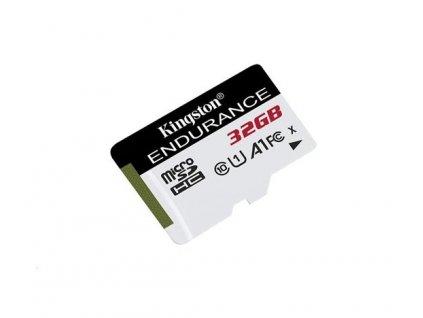 KINGSTON micro SDHC 32GB High Endurance Class 10 UHS-I U1 (čtení/zápis: 95/30MB/s)