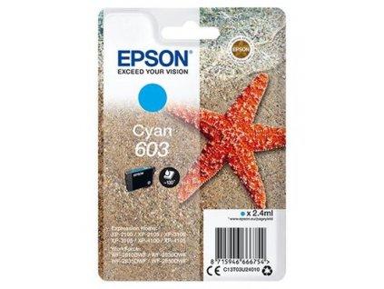 Epson 603 Cyan, azurová - originální