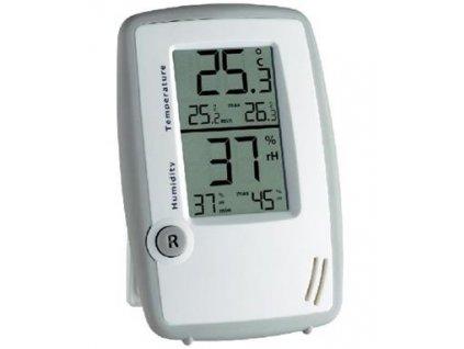 Conrad Teploměr s vlhkoměrem, Přehledné zobrazení naměřených hodnot, Teplota -50 až +70 °C