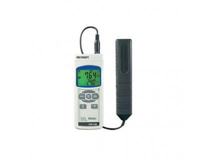 Voltcraft CM-100 Přístroj k měření CO2, Indikace CO22- a indikace teploty