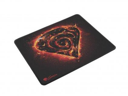 Herní podložka NATEC GENESIS Carbon 500 M Fire (M12 FIRE), 30x25cm