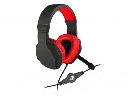 Herní sluchátka GENESIS ARGON 200 BLACK/RED