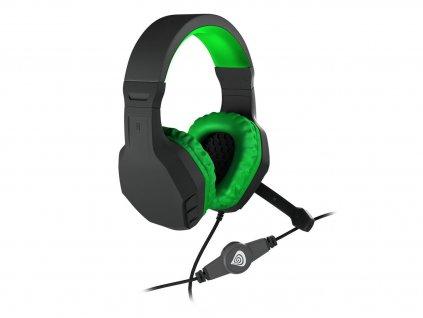 Herní sluchátka GENESIS ARGON 200 BLACK/GREEN