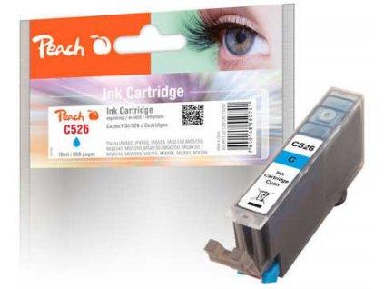 Peach C526 azurová (cyan) kompatibilní s Canon CLI-526c