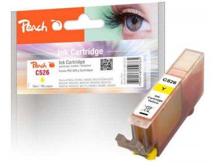 Peach C526 žlutá kompatibilní s CLI-526y