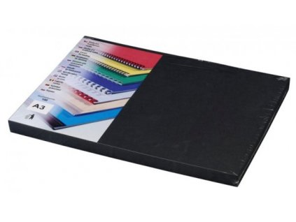 DELTA Karton, A3/100ks, černá