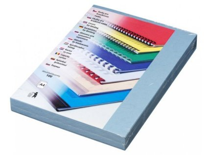 DELTA Karton, A4/100ks, světle modrá