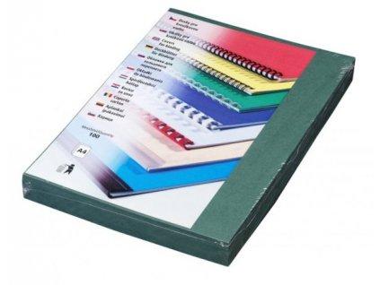 DELTA Karton, A4/100ks, zelená