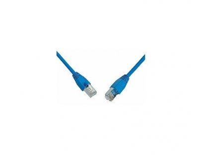 SOLARIX Patch kabel CAT6 SFTP PVC 3m modrý