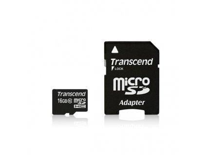 Transcend microSDHC 16GB Class10 (TS16GUSDHC10)