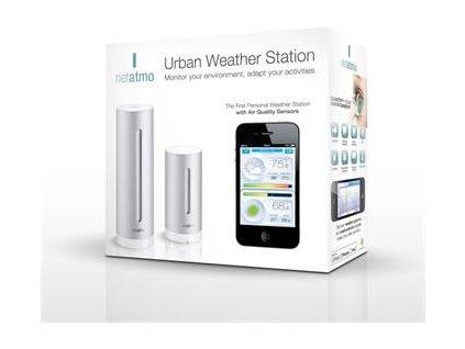 Netatmo Urban meteostanice pro Android a iOS