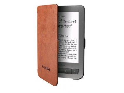 PocketBook pouzdro Shell pro 614/615/624/626, černo-hnědá