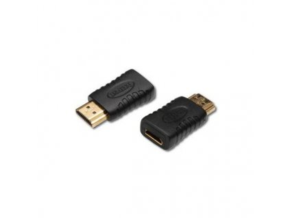 PremiumCord Adapter HDMI Typ C samice - HDMI Typ A samec