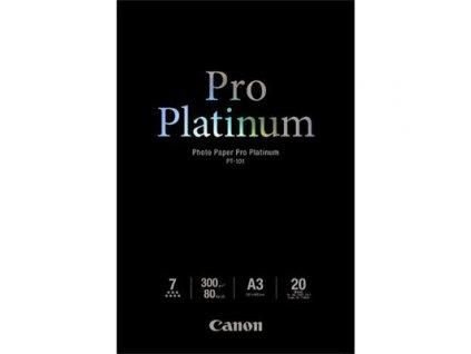 Canon PT-101 A3 Photo Paper Pro Platinum 20sheets 300g/m2