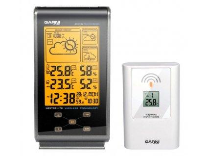 Meteorologická stanice s 3 denní předpovědí počasí Garni