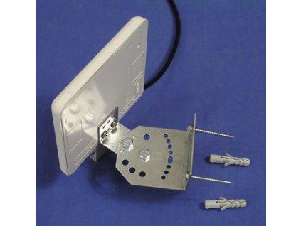 Jirous JPA-9S/3, WiFi panelová anténa, držák na stěnu, délka kabelu 3m 2,4GHz RP-SMA 9dBi